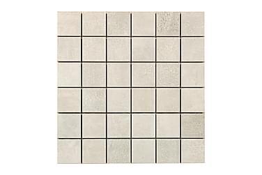Concrete Silver Grey Mosaiikki 30X30
