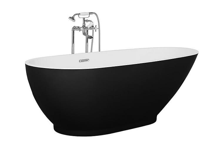 Kylpyamme Guiana 170 cm - Musta - Kylpyhuone - Kylpyammeet - Vapaasti seisovat ammeet
