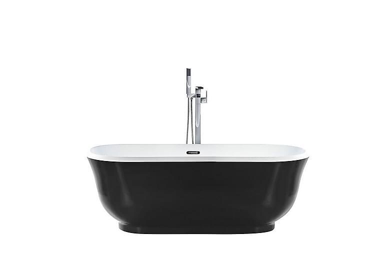 Kylpyamme Isidoro 170 cm Vapaastiseisova - Musta - Kylpyhuone - Kylpyammeet - Vapaasti seisovat ammeet