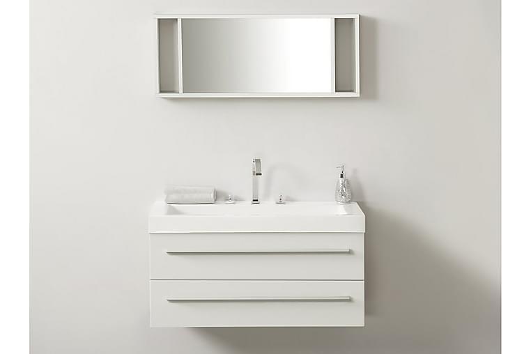 Kylpyhuonekalusteet Barcelona 47x100 cm - Valkoinen - Kylpyhuone - Kylpyhuonekalusteet - Allaskaapit