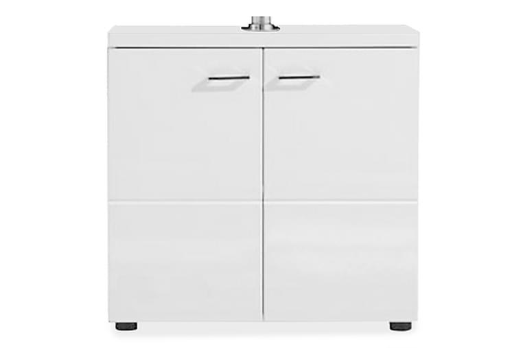 Pesuallaskaappi Nightlife 65 cm - Valkoinen/korkeakiiltovalk - Kylpyhuone - Kylpyhuonekalusteet - Allaskaapit