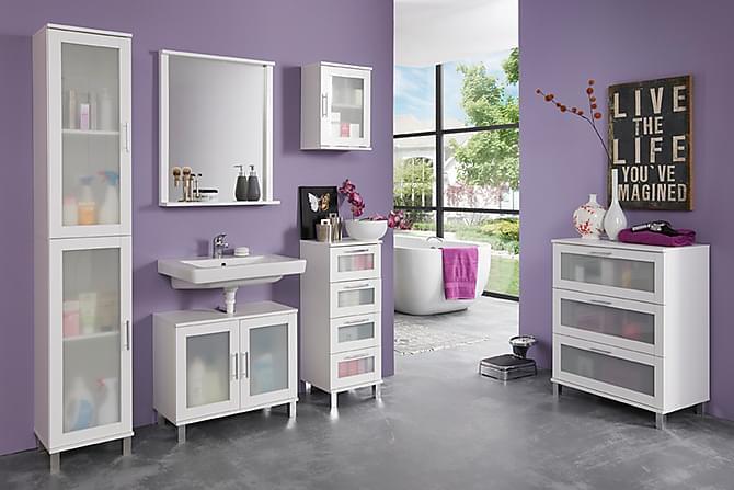 Pesuallaskaappi Rinard 65 cm - Valkoinen - Kylpyhuone - Kylpyhuonekalusteet - Kylpyhuonekaapit