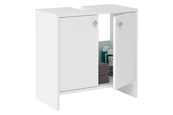 Alakaappi Lianna 52 cm 2 ovea - Valkoinen - Kylpyhuone - Kylpyhuonekalusteet - Kylpyhuonekaapit