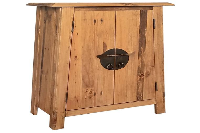 Kylpyhuoneen kaappi kierrätetty mänty 59x32x80 cm - Ruskea - Kylpyhuone - Kylpyhuonekalusteet - Kylpyhuonekaapit