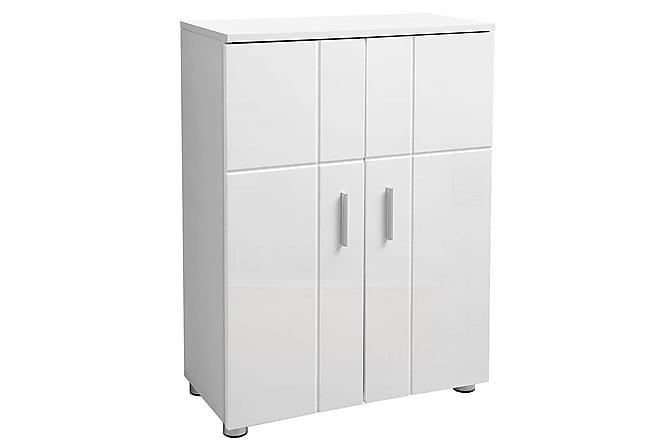 Kylpyhuonekaappi Emerson 82 cm - Valkoinen - Kylpyhuone - Kylpyhuonekalusteet - Kylpyhuonekaapit