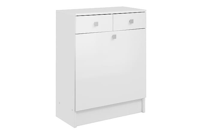 Kylpyhuonekaappi Jobsbo Valkoinen - Kylpyhuone - Kylpyhuonekalusteet - Kylpyhuonekaapit