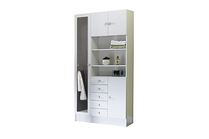 Kalustepaketti Challis Valkoinen - Kylpyhuone - Kylpyhuonekalusteet - Kylpyhuonekalustepaketit