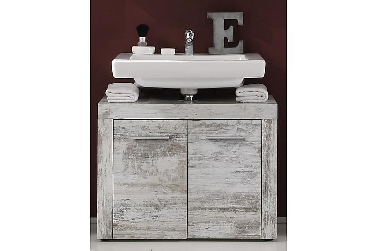 Kalustepaketti Cornell XL 4 osaa Vintage valkoinen - Kylpyhuone - Kylpyhuonekalusteet - Kylpyhuonekalustepaketit