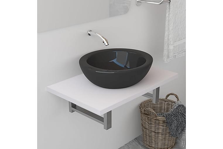 Kylpyhuoneen huonekalu valkoinen 60x40x16,3 cm - Valkoinen - Kylpyhuone - Kylpyhuonekalusteet - Kylpyhuonekalustepaketit