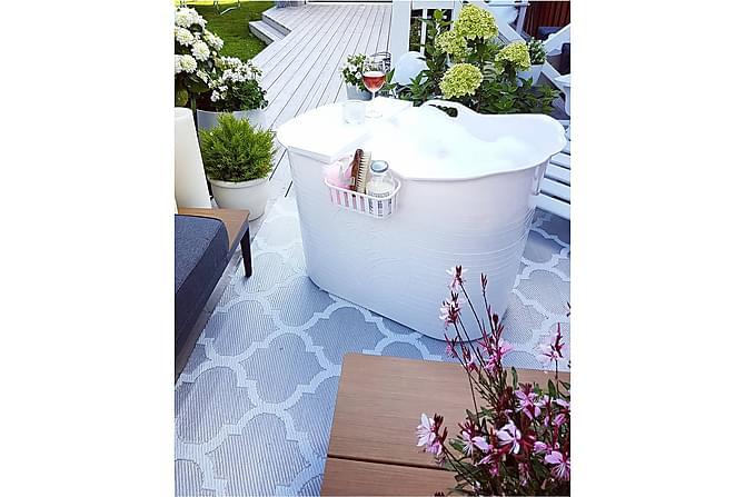 Kylpyamme Coolest Valkoinen - 86x52 cm - Kylpyhuone - Kylpyammeet - Vapaasti seisovat ammeet