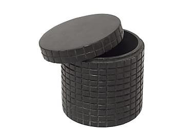 Astia Solid kannella Musta