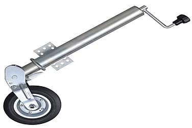 60 mm Tukeva Kokoontaitettava Peräkärryn Siirtopyörä