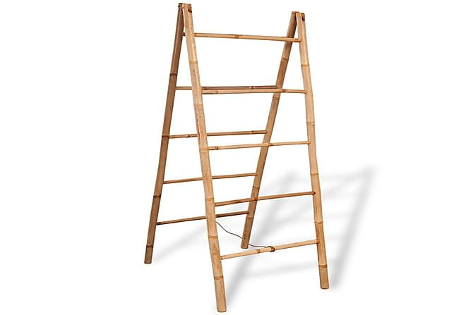 Tupla Pyyhetikkaat 5 Pienaa Bambu 50x160 cm - Ruskea - Kylpyhuone - Kylpyhuonetarvikkeet - Pyyhekoukut & pyyhetangot