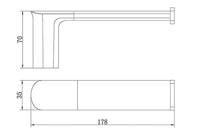 Liberty Paperiteline - Kylpyhuone - Kylpyhuonetarvikkeet - Wc-paperitelineet