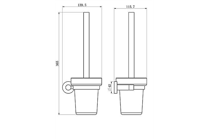 Prince Square WC-harjateline - Kylpyhuone - Kylpyhuonetarvikkeet - Wc-harjat