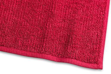 Stripe Froteepyyhe 30x50 cm Punainen