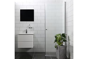 Mångsidig  Suihkuovi Bathlife 100 cm Pyöreä Huurre Pyöreä