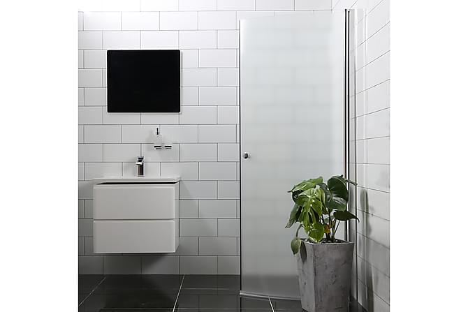 Mångsidig  Suihkuovi Bathlife 100 cm Pyöreä Huurre Pyöreä - Hopea - Kylpyhuone - Suihkukalusteet - Suihkuovet