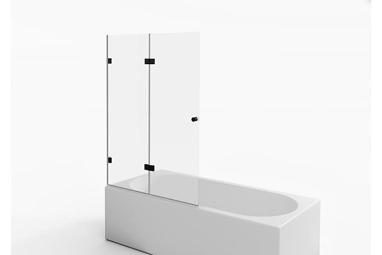 Suihkuseinä Tomtbod 140 cm - Musta - Kylpyhuone - Suihkukalusteet - Suihkuseinät