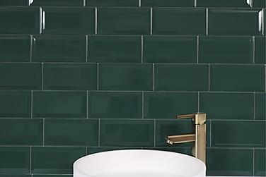 Seinälaatta Metro Emerald 10X20