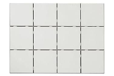 Lattialaatta Soft Valkoinen Matta 10X10