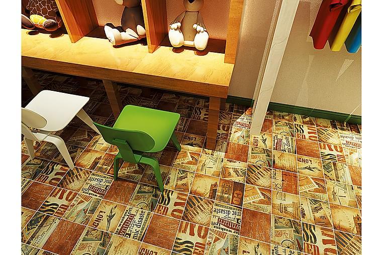 Lattialaatta Washington 20X20 - Seinälaatat & Lattialaatat - Lattialaatat - Kuvioidut lattialaatat