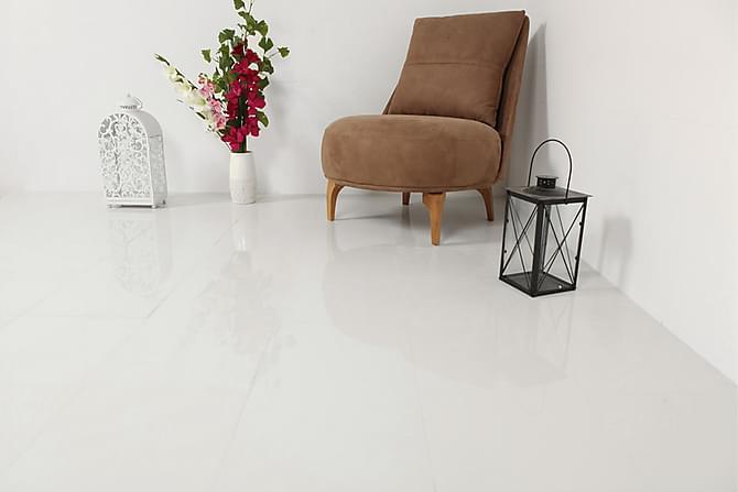 Lattialaatta Super White Blank 30X30 - Seinälaatat & Lattialaatat - Lattialaatat - Yksiväriset lattialaatat