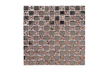 Kristallimosaiikki Glow Copper 30X30