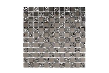 Kristallimosaiikki Glow Silver 30X30