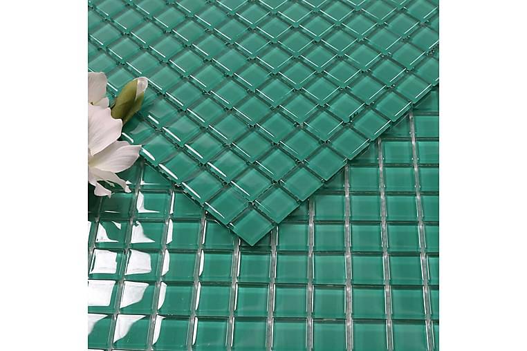 Kristallimosaiikki Green Ocean 2,3X2,3 - Seinälaatat & Lattialaatat - Mosaiikki - Kristallimosaiikki