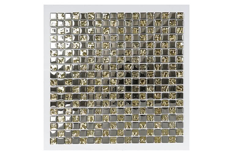 Kristallimosaiikki Silver And Gold 30X30 - Seinälaatat & Lattialaatat - Mosaiikki - Kristallimosaiikki