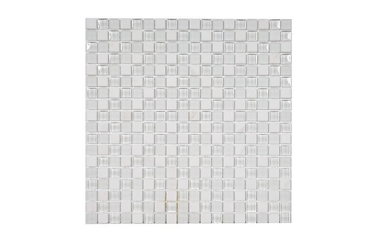 Kristallimosaiikki Snow Grouse 30X30 - Seinälaatat & Lattialaatat - Mosaiikki - Kristallimosaiikki