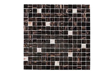 Mosaiikki Brun White Touch 32,7X32,7