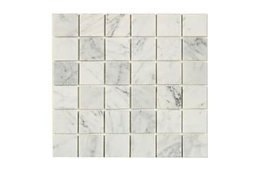 Mosaiikki White Marble Grey 30X30