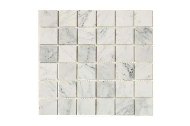 Mosaiikki White Marble Grey 30X30 - Seinälaatat & Lattialaatat - Mosaiikki - Luonnonkivimosaiikki