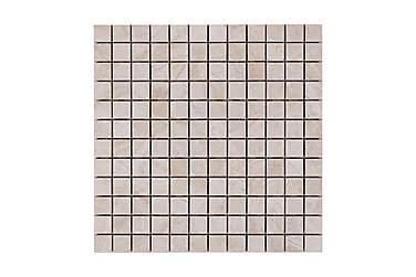 Mosaiikki Carrara Beige Kiiltävä 2,4X2,4