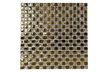 Kristallimosaiikki Gold 30X30
