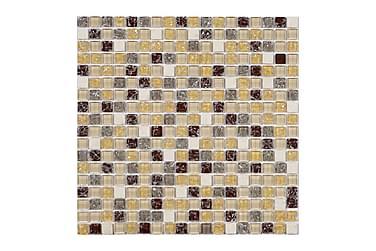 Kristallimosaiikki Vivida Amber 30X30