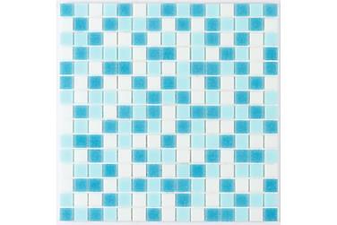 Lasimosaiikki Azul 32,7X32,7