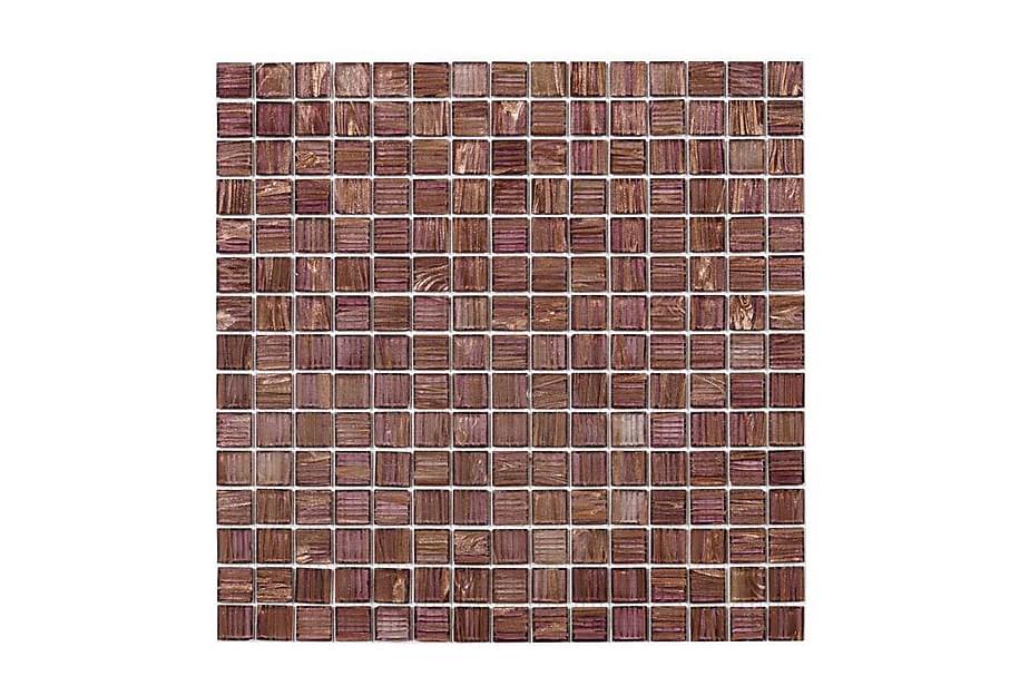 Lasimosaiikki Purple Gold 32,7x32,7