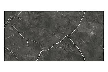 Seinälaatta Atlas Musta 25X50