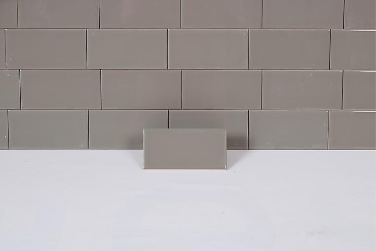 Seinälaatta Plan Grey 7,5X15 - Seinälaatat & Lattialaatat - Seinälaatat - Yksiväriset seinälaatat