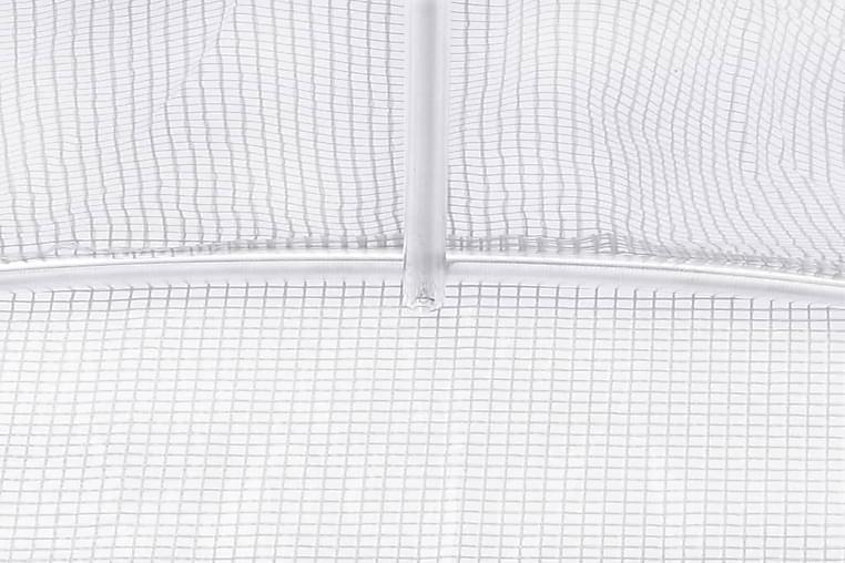 Kasvihuone 36m² 1200x300x200 cm - Valkoinen - Piha - Grillaus - Kaasugrillit