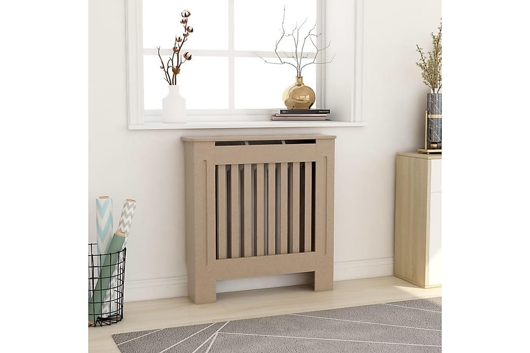 MDF lämpöpatterin suoja 78 cm - Ruskea - Piha - Ilmastointi & lämmitys - Lämpöpatterit