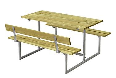Basic Pöytä- ja penkkisetti lapsille 1 selkänojalla - painek