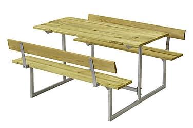 Basic Pöytä- ja penkkisetti lapsille 2 selkänojalla - painek