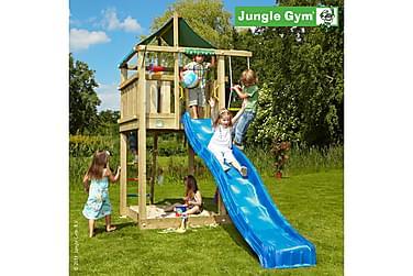 NSH Jungle Gym Mökki Leikkitorni ilman liukumäkeä
