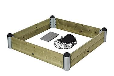 Pipe Hiekkalaatikkopaketti - sis painekäsitellyt laudat