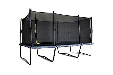Suorakulmainen trampoliini Malcolm 4.58x3.05m Pro