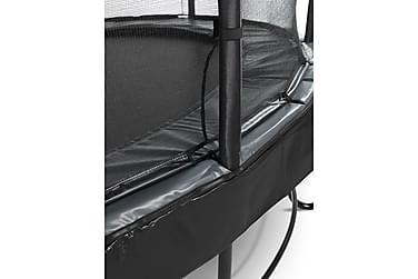 Trampoliini Elegant Premium verkolla Deluxe 305 Pyöreä Musta